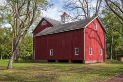 Historic Barn stock image