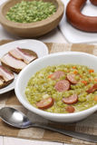 Erwtensoep, pea soup Stock Image
