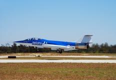 Ery zimny Wojenny jetfighter zdjęcie stock