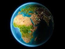 Erytrea w wieczór Obraz Royalty Free