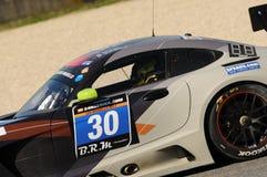 12 Erz Hankook Mugello am 18. März 2017: #30 Ram Racing, Mercedes AMG GT3 Lizenzfreies Stockfoto