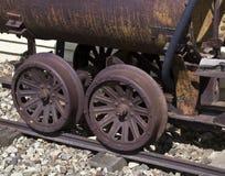 Erz-Wagen Stockbild