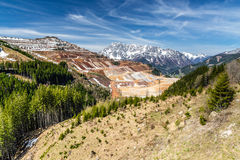 Erzberg Open-pit Iron Ore Mine - Eisenerz, Austria Royalty Free Stock Photography