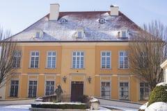 Erzbischof ` s Wohnsitz auf Kathedralen-Insel, Breslau, Polen, Schlesien, Europa stockbild