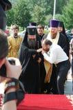 Erzbischof von Yekaterinburg und von Verkhoturye Kyrill Lizenzfreie Stockfotografie