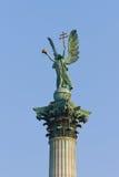 Erzengel-Gabriel-Statue Stockfotografie