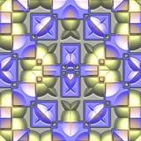 Erzeugte nahtlose Beschaffenheit der Dekoration Fliese vektor abbildung