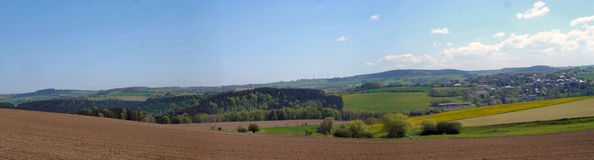 The Erzgebirge in Saxony, Germany Royalty Free Stock Photo