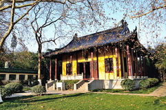 Erzhong Temple Royalty Free Stock Image