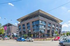 Erziehungsministerium in Pristina Stockfotos