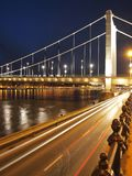 erzsebet моста Стоковое фото RF