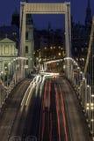 Erzsebet Bridge Royaltyfria Foton