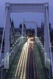 Erzsebet bridge Royalty Free Stock Photo