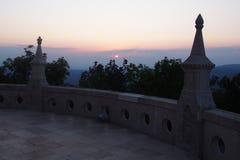 Erzsebet Lookout Tower imagem de stock royalty free