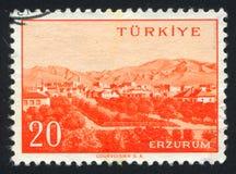 Erzurum fotografia stock