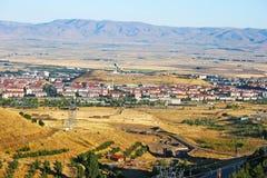 Erzurum city stock image