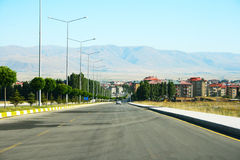 Erzurum city Royalty Free Stock Images