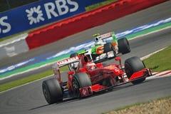 Erzwingen Sie Indien-Schritt auf den Fersen von Ferrari Lizenzfreie Stockfotos