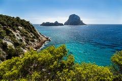 ES韦德拉, Ibiza 免版税图库摄影