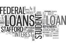 Es algún estudiante Loans Better Than que otros redactan la nube ilustración del vector