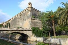 Es Baluard Fortress in Palma de Mallorca stock photography