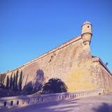 Es Baluard Walls in Palma of Majorca Royalty Free Stock Photo