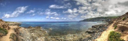 Es Calà ³ plaża w Formentera Balearic wyspach zdjęcia stock