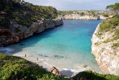 Es Caló de's Moro (Mallorca, Spain) Royalty Free Stock Photos