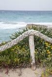 Es Calo Beach; Formentera; Balearic Islands; Spain Stock Photos