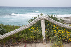 Es Calo Beach; Formentera; Balearic Islands Royalty Free Stock Images