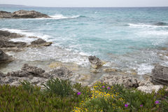 Es Calo Beach; Formentera; Balearic Islands Stock Photos