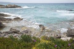Es Calo Beach; Formentera; Balearic Islands Stock Photos