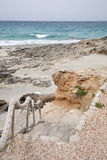Es Calo Beach; Formentera; Balearic Islands Royalty Free Stock Photography