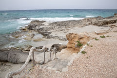 Es Calo Beach; Formentera; Balearic Islands Stock Photography