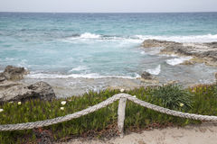 Es Calo Beach; Formentera; Balearic Islands; Spain Royalty Free Stock Photos