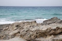 Es Calo Beach; Formentera; Balearic Islands Stock Photo