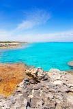 Es Calo de San Agusti in Formentera Balearic Stock Photos