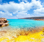 Es Calo de San Agusti in Formentera Balearic Royalty Free Stock Image