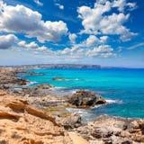 Es calo Escalo de san Agustin Beach in Formentera Stock Images