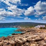 Es calo Escalo de san Agustin Beach in Formentera Royalty Free Stock Photography