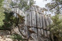 Es Camell karstic rock formation Stock Images