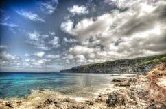 ES Carnattge在福门特拉岛 库存图片