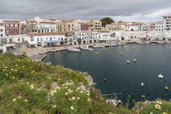 Es Castell,Balearic Islands,Spain. Royalty Free Stock Image