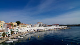 Es Castell Harbor Royalty Free Stock Photography
