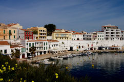 Es Castell Harbor Royalty Free Stock Images