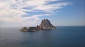Es d'Hort de Vedra, Cala, Ibiza Images libres de droits