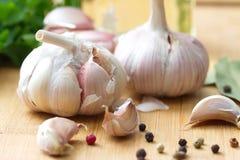  es dello spiÑ e dell'aglio Immagine Stock