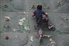 Es el subir de los niños en SHENZHEN Foto de archivo libre de regalías