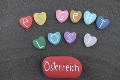 Es geht los, here we go, Österreich, Austria Stock Image