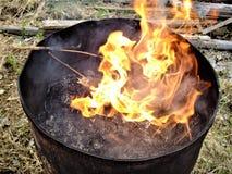 Es gibt keinen Rauch ohne Feuer Lizenzfreie Stockfotos